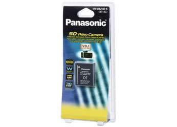 Panasonic VW-VBJ10E-K, Battery pack