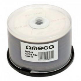 50*Spindle DVD-R Omega, 4.7GB, 16x