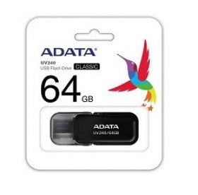 64GB USB2.0 ADATA UV240, Black