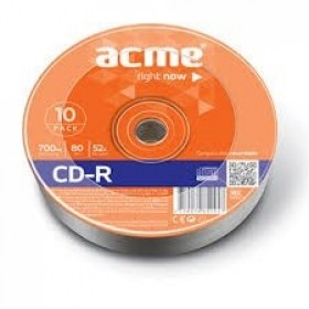 Acme CD-R 80/700MB 52X 10pack spindle