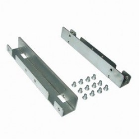Brackets pentru Hard Disc SSD 2.5x2pcs SSD 3.5 Metal mounting frame Gembird MF-3221 componente calculatoare md Chisinau