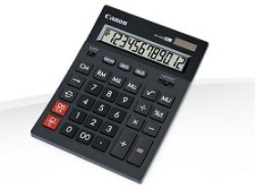Calculator De Birou Canon AS-444 II 12 digits
