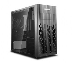 Carcasa pc md Case mATX Deepcool MATREXX 30 no PSU Black componente pc magazin online calculatoare md