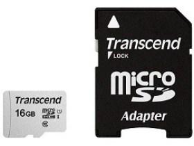 Card de Memorie 16GB MicroSD Class 10 UHS-I U1+SD Adapter Transcend TS16GUSD300S-A Pret Itunexx.MD Chisinau