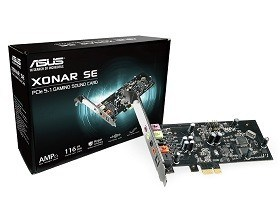 Cartela Audio ASUS Xonar SE 5.1 Gaming Audio Card Magazin Online Calculatoare Chisinau