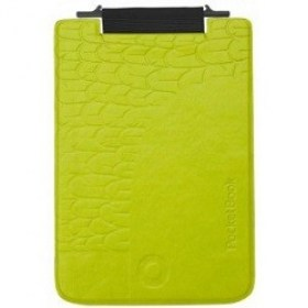 "Case Cover Pocketbook ""Bird"" flip flop for MINI 515 Green"