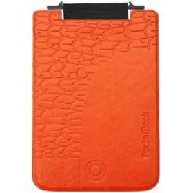 "Case  Cover Pocketbook ""Bird"" flip flop for MINI 515 Orange"