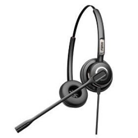 Casti Stereo VoIP Headset Fanvil HT202 internet magazin acustica audio md Chisinau