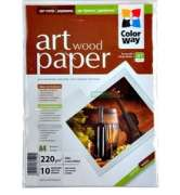 ColorWay PMA220010WA4 Art Wood MatteFinne Paper  A4, 220g, 10pcs