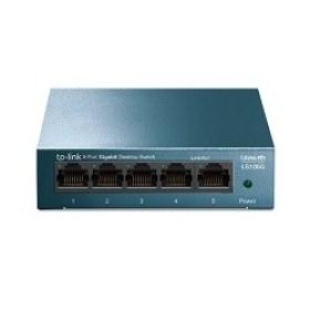 Cumpara 8 port 10/100/1000Mbps Switch TP LINK-LS105G steel case accesorii md retelistica calculatoare md si Chisinau