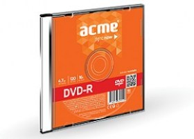 Cumpara ACME DVD-R 4,7 GB 16X Slim Box printable Chisinau magazin md
