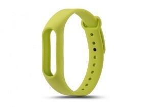 Cumpara Bratara schimb silicon pentu Bratara Fitness Xiaomi Miband 2 Green accesorii magazin online Electronice Chisinau