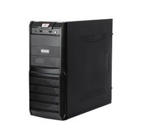 Cumpara Carcasa PC SPACER New Galaxy ATX Case, 500W, Black magazin md calculatoare Chisinau