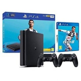 Cumpara Consola Gaming Sony PlayStation4 1TB Black Fifa 19 Dualshock Chisinau magazin md