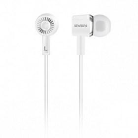 Earphones pentru Telefon Mobil SVEN-E-110 White magazin acustica md Chisinau