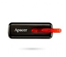 Flash Drive 32GB USB2.0 Apacer AH336 Black AP32GAH336B-1