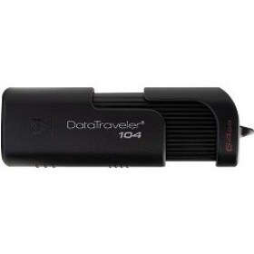 Flash Drive 64GB USB2.0 Kingston Dataer 104 DT104/64GB magazin computere md Chisinau