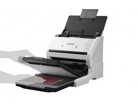 Flatbed Scanner Conversion Kit Epson for DS-530 + Perfection V19 magazin printere md