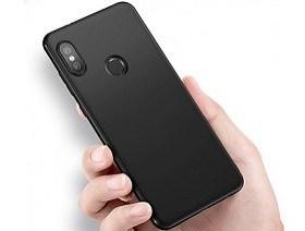 Husa TPU Screen Geeks Solid Xiaomi Redmi Note 6 Pro Black magazin accesorii telefoane mobile Chisinau