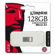 Kingston DTMC3/128GB DataTraveler Micro 3.1, 128GB USB3.1 Metal casing