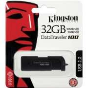 Kingston DT100G3/32GB DataTraveler 100 Generation 3,32GB Black