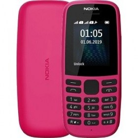 Magazin Telefoane Mobile clasice cu Butoane md Nokia 105 (2019) Dual Sim Pink Moldova Electronice
