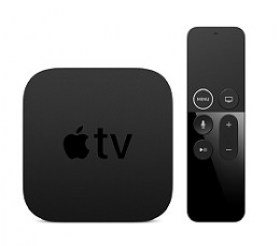 Mediaplayer in Moldova MP7P2RS/A Apple TV 4K Media player 64GB 3GB Apple A10X Fusion WiFi-AC accesorii md televizoare