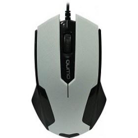 Mouse cu fir USB Qumo M14 Optical White game accesorii magazin md calculatoare in Chisinau