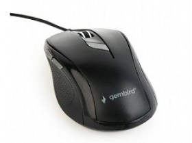 Mouse USB Gembird MUS-6B-01 1600dpi Optical Black magazin accesorii computere md Chisinau
