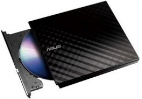 ASUS SDRW-08D2S-U LITE Black External Slim DVD+-R/RW Drive accesorii md componente pc Computere Chisinau
