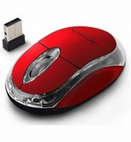 Optical Mouse Extreme HARRIER XM105R 1000DPI USB Red