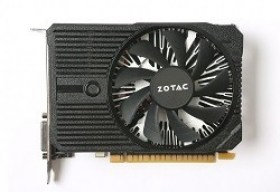Placa Video Cartela ZOTAC GeForce GTX 1050 Mini 2GB DDR5 128bit Single Fan DVI HDMI DP