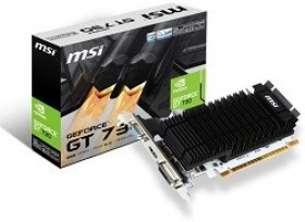 Placa Video MSI GeForce GT730 2GB GDDR3 64Bit 1006/1600Mhz componente pc magazin online Calculatoare in Chisinau