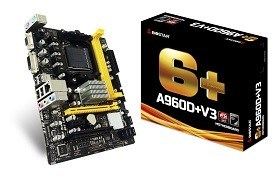 Placa de Baza PC MD Biostar A960D+V3 Socket AM3+AM3 AMD 760G SB710 mATX Componente Periferice Calculatoare Chisina
