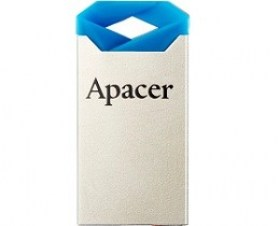 Pret USB Flash 32GB USB2.0 Apacer AH111 Silver Blue Super Mini Metal Capless Magazin Online itunexx.md Chisinau