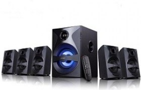 Cumpara Sistem Audio Boxe 5 in 1 F&D F3800X 5.1 Black RMS 80W 70dB BT4.0 USB SD/FM magazin md