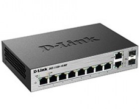 Switch Lan Equipment md D-Link DGS-1100-10/ME 8-port 8x1GBASE-T Managed