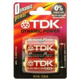 TDK Dynamic Power R14-2AA 1,5V C, 2pcs