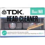 TDK 8CL-11 8mm/Hi8 Head Cleaner