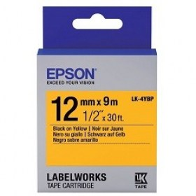 Tape Cartridge EPSON 12mm/9m /Yellow LK4YBP C53S654008 cartuse printere md