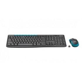 Tastatura cu Mouse Wireless Logitech MK275 Black accesorii computere md Chisinau