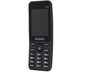 Telefoane in Rate Chisinau BRAVIS C246 Fruit DualSim Black internet magazin telefoane mobile md