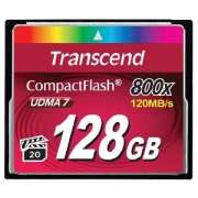 Transcend TS128GCF800, 128GB, Hi-Speed 800X