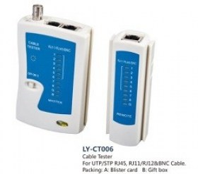 APC Electronic LY-CT006 Cable Tester for UTP/STP